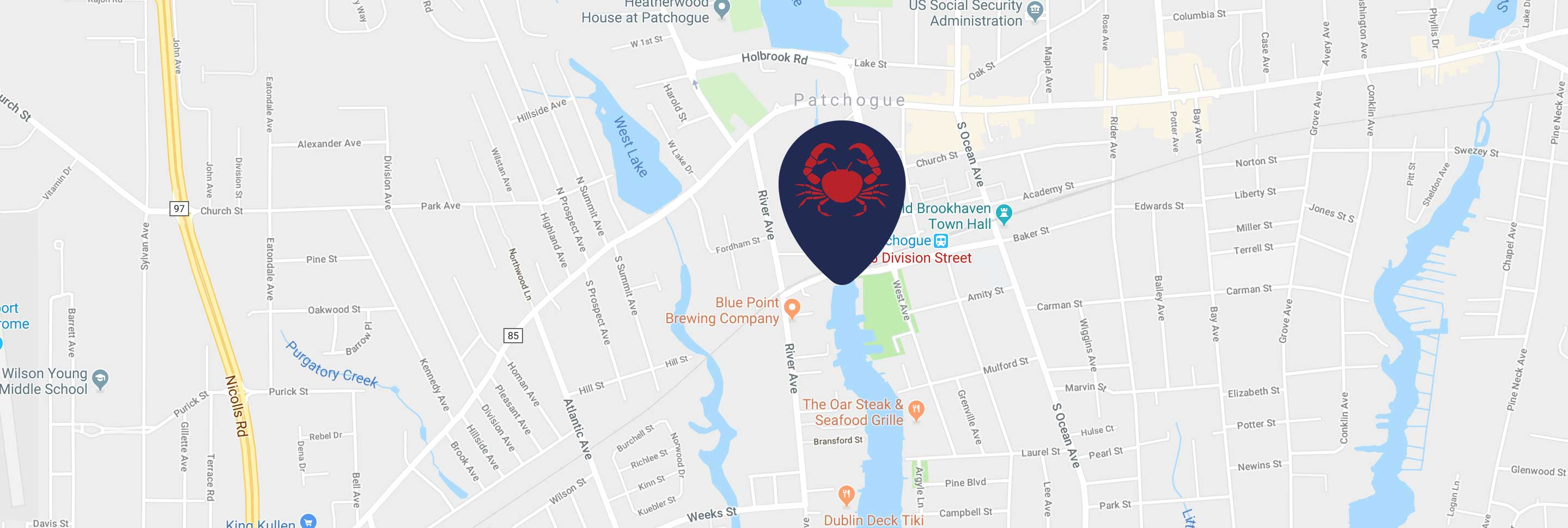 Harbor Crab Map