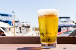 Beer outside