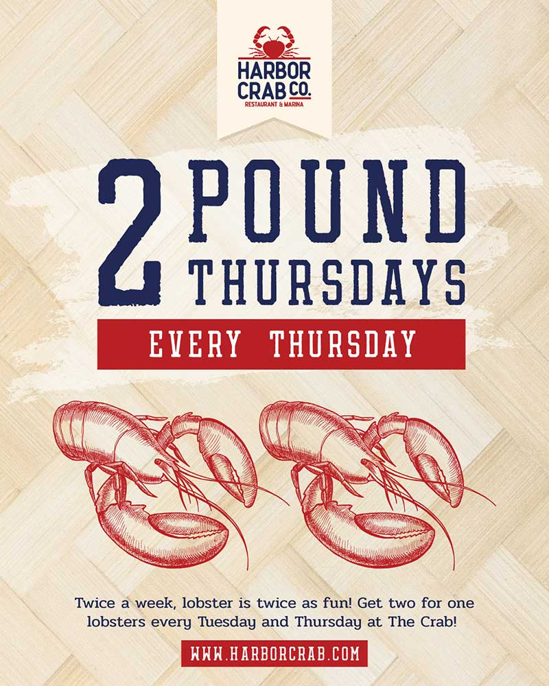 Thursday: 2 Pound Thursdays