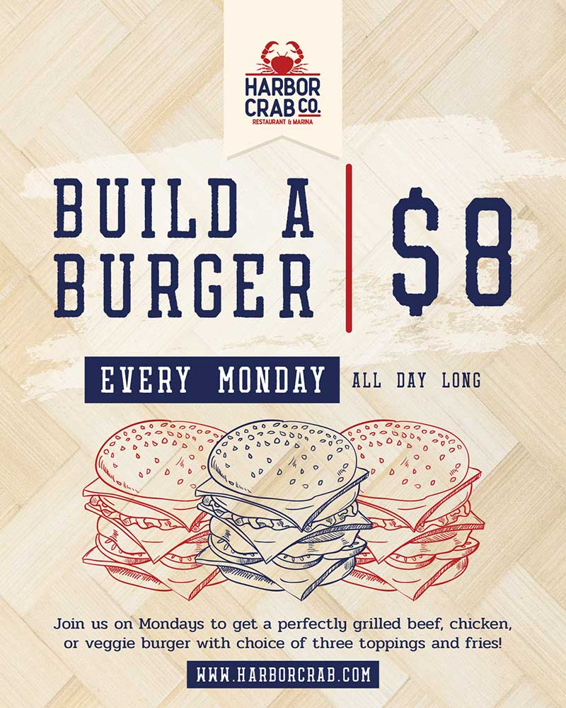Monday: Build a Burger