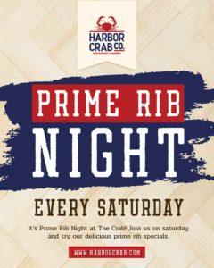 Prime Rib Night