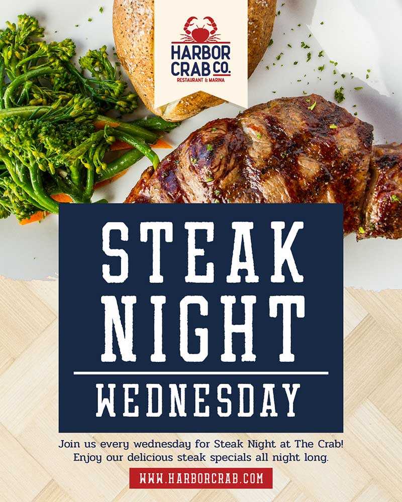 Wednesday: Steak Night