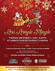Kris Kringle Mingle Flyer