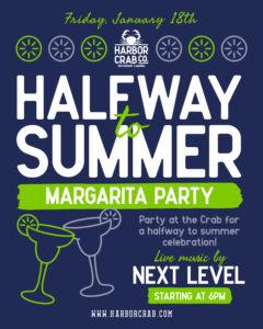 Halfway to Summer Margarita Party Flyer