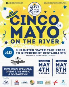 Cinco de Mayo on the River Flyer