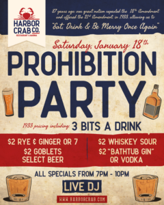 Flyer for Prohibition Party