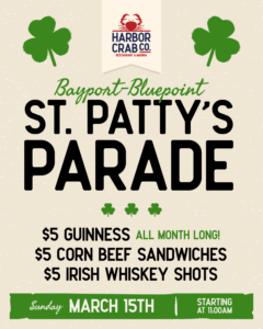 St. Patty's Parade March 15th