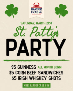 St pattys party 3/21
