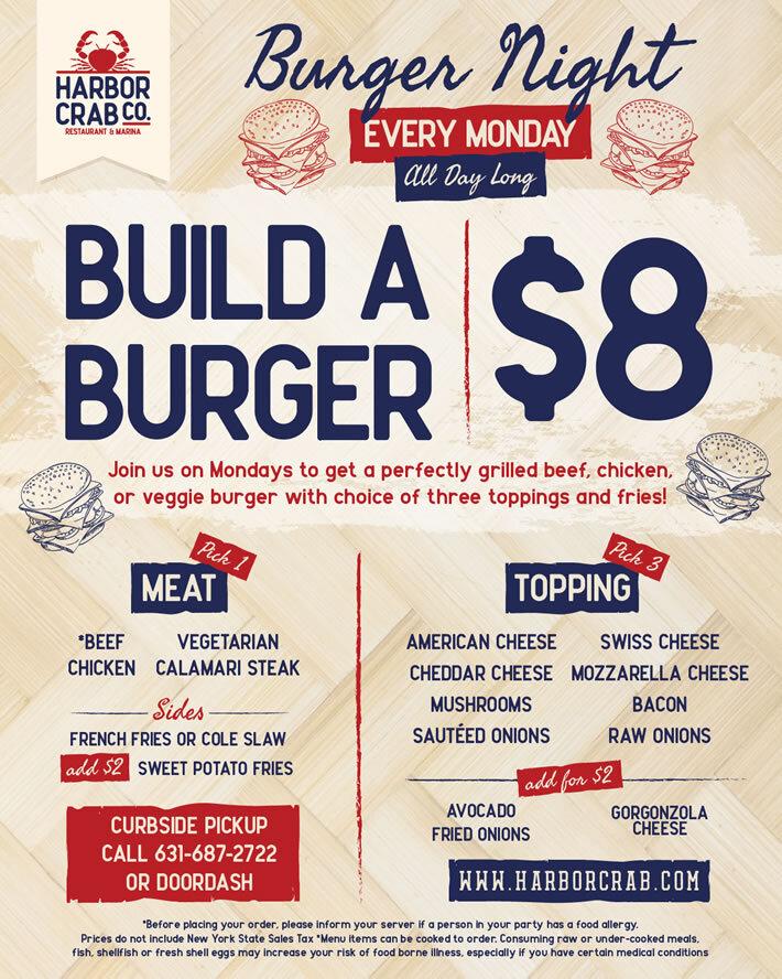 Monday: Build a Burger