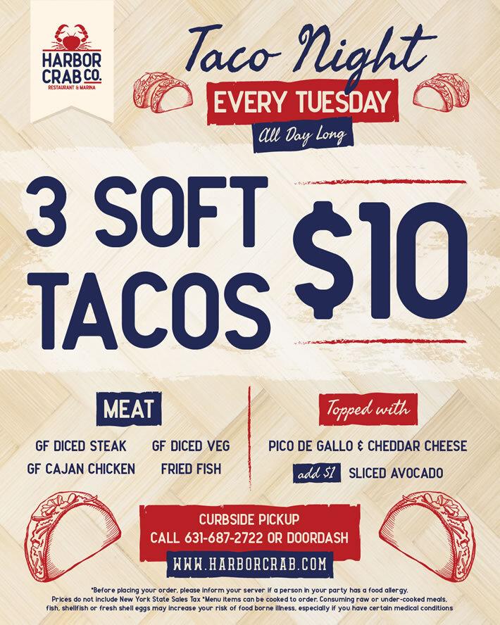 Tuesday: 2 Pound Tuesday + Taco Tuesday