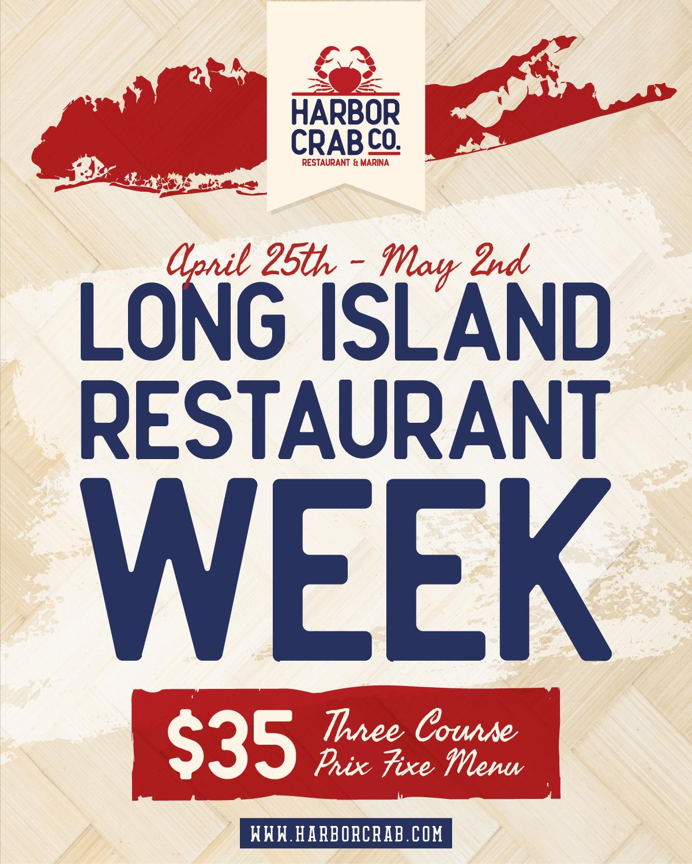 Long Island Restaurant Week April 25 - May 2 2021