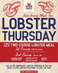 Lobster Thursdays