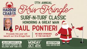 17th Annual Kris Kringle Surf N Turf Classic October 4th 9 AM