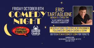 Comedy Show Friday, October 8th