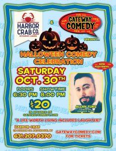 Comedy Night Saturday October 30th