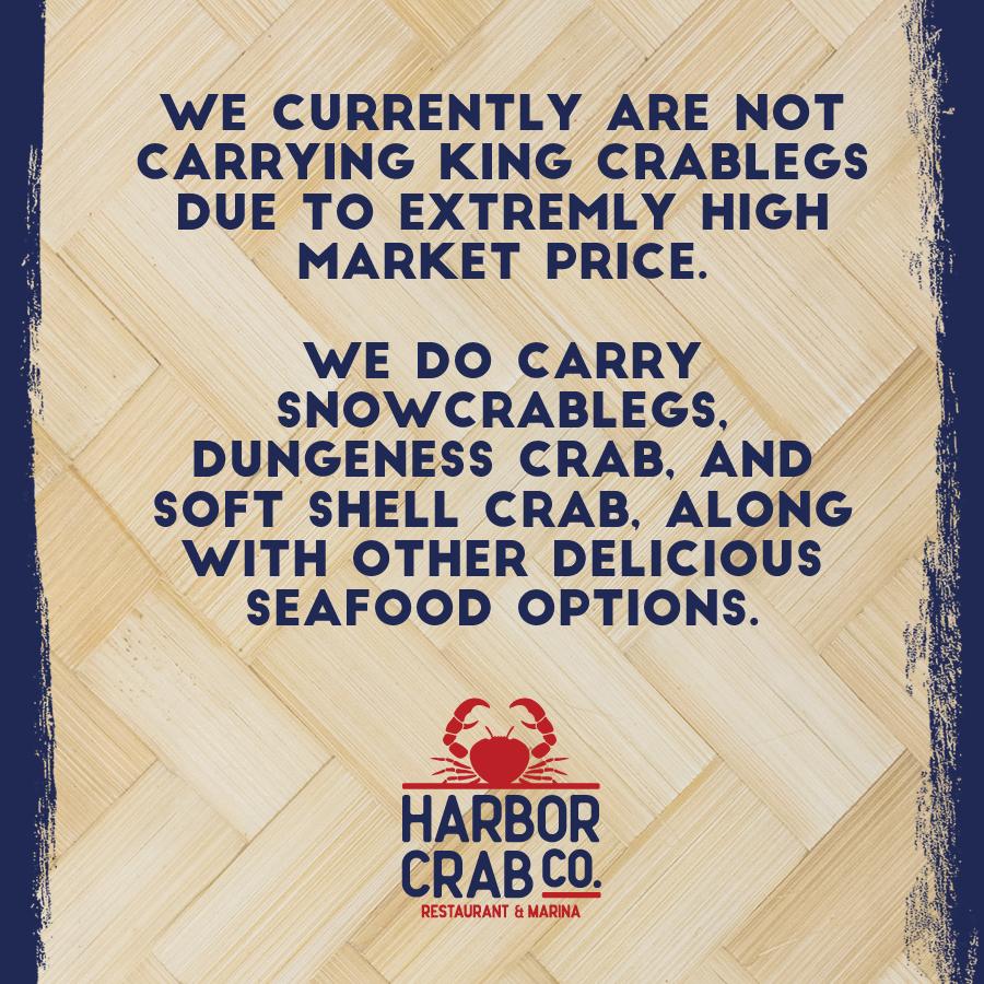 No King Crab Leg